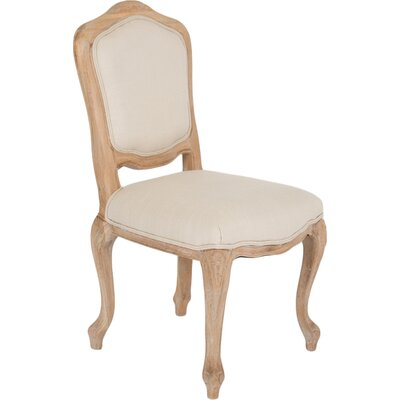 Centauree Side Chair (Set of 2) Upholstery: White and Beige