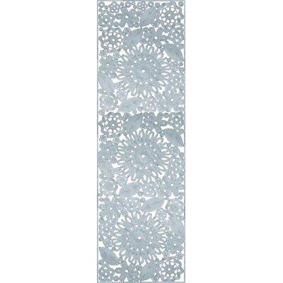 Lamoureux Hand Woven Blue Indoor/Outdoor Area Rug Rug Size: Runner 26 x 8