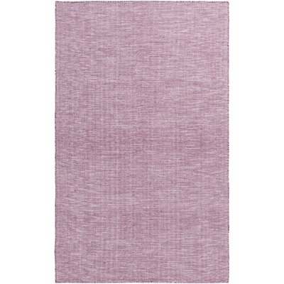 Dario Hand Woven Purple Area Rug Rug Size: Rectangle 4 x 6