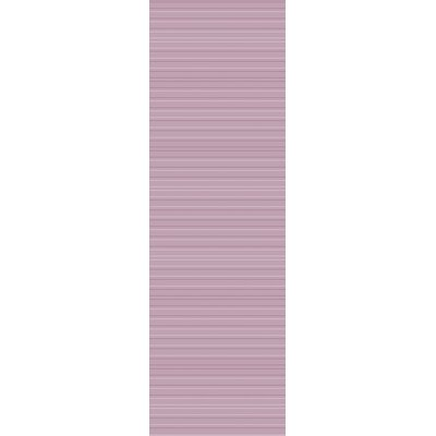 Dario Hand Woven Purple Area Rug Rug Size: Runner 26 x 8