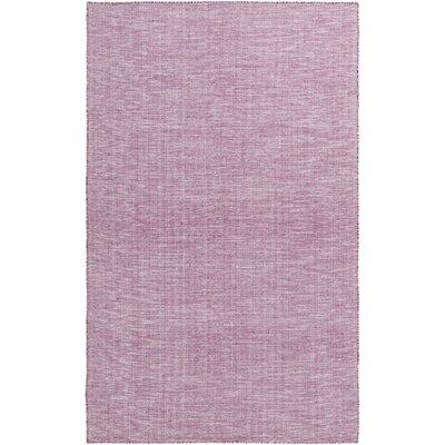 Dario Hand Woven Purple Area Rug Rug Size: 4 x 6