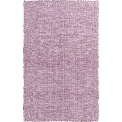 Lefebre Hand Woven Purple Area Rug Rug Size: 5 x 76