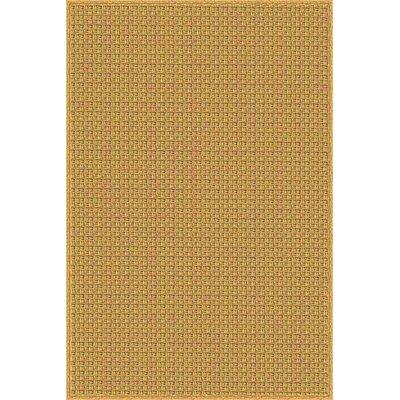 Lehoux Hand Woven Brown Indoor/Outdoor Area Rug Rug Size: 4 x 6