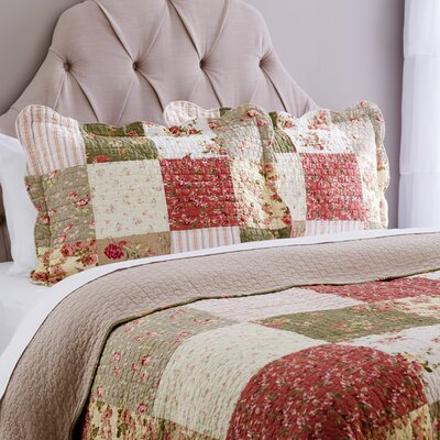 Eaubonne Patchwork Quilt Size: Full / Queen