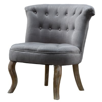 Tutted Accent Barrel Chair