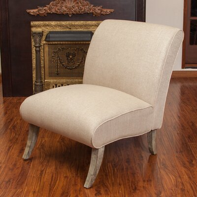 Anae Fabric Slipper Chair