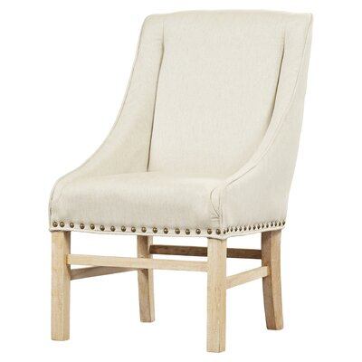 Busch Side Chair Upholstery: Fabric - Linen