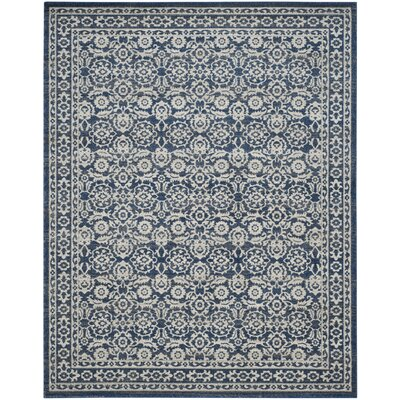 Montelimar Royal Ivory Area Rug Rug Size: Rectangle 8 x 10