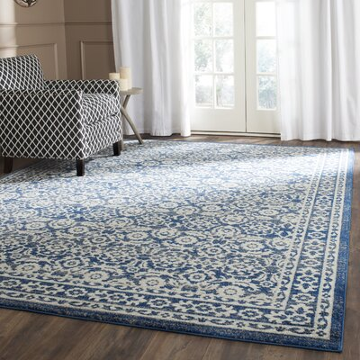 Montelimar Royal Ivory Area Rug Rug Size: Rectangle 10 x 14