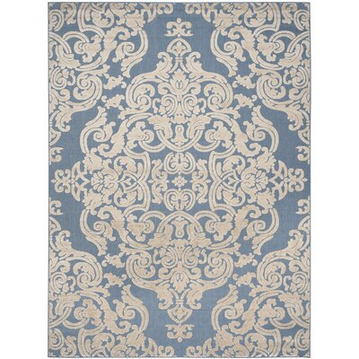 Lievin Blue Indoor/Outdoor Area Rug Rug Size: Rectangle 8 x 112
