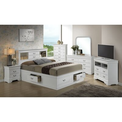 Corbeil Storage Platform Configurable Bedroom Set