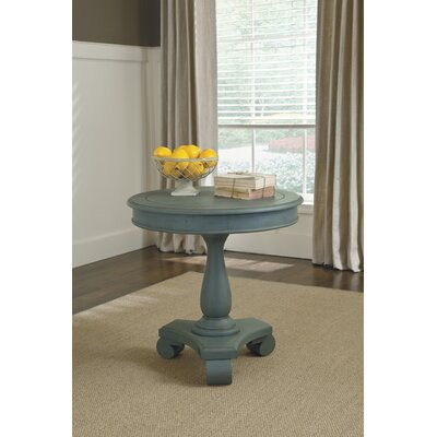 Bezons End Table Finish: Green