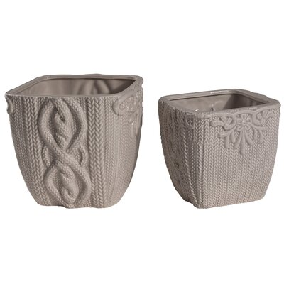 2-Piece Sile Planter Set