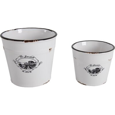 2-Piece Paloma Planter Set