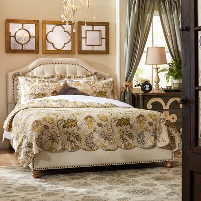 Djibril Platform Bed Size: California King, Color: Cotton