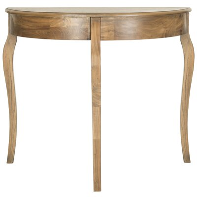 Tussilage Console Table Color: Oak