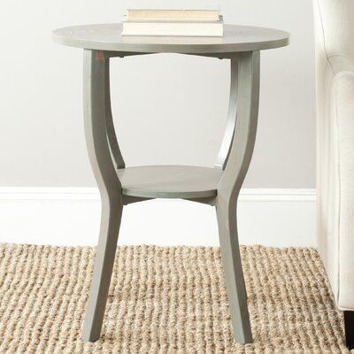 Tussilage End Table Color: French Grey