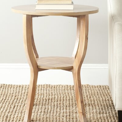 Tussilage End Table Color: Red Maple