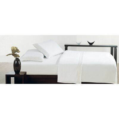 Thionville Microfiber Sheet Set Size: King, Color: White