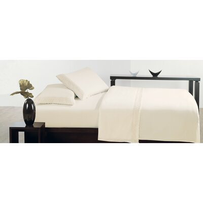 Thionville Microfiber Sheet Set Size: King, Color: Ivory