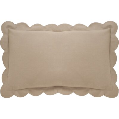 Circee Lumbar Pillow Color: Tan