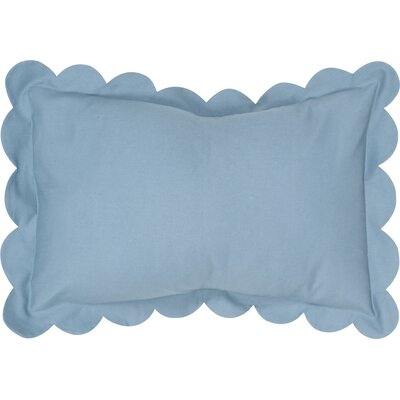 Circee Lumbar Pillow Color: Wedgwood Blue