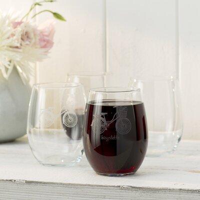 Bicyclette Stemless 21 oz. Wine Glass LARK1633 26357051