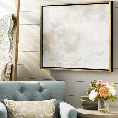 'Porcelain' Framed Painting Print on Canvas
