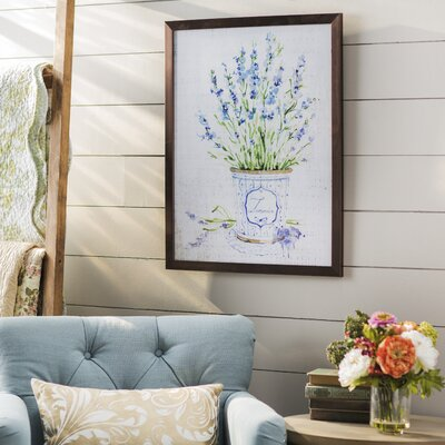 'Lavender' Framed Graphic Art