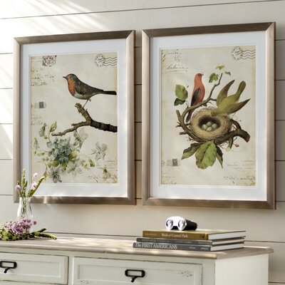 Trepanier 2 Piece Framed Graphic Art Set