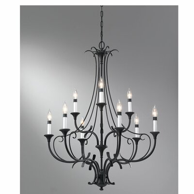 Maiwenn 9-Light Candle-Style Chandelier