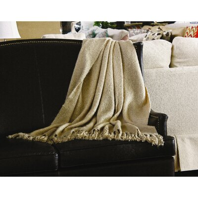 Clematite Throw Blanket Color: Camel