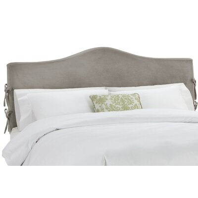 Anis Slipcover Upholstered Panel Headboard Upholstery: Regal Smoke, Size: California King