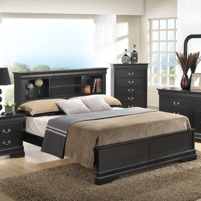 Corbeil Panel Bed Size: Full, Finish: Oak