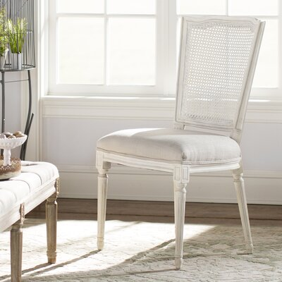 Ylan Side Chair (Set of 2) Upholstery: Beige