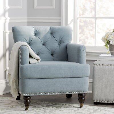 Sevigny Armchair Upholstery: Sky Blue