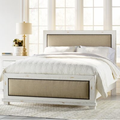 Castagnier Upholstered Panel Bed