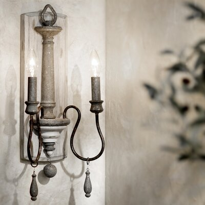 Amelia 2-Light Wall Sconce