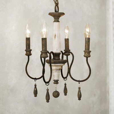 Armande Candle-Style Chandelier Size: Small