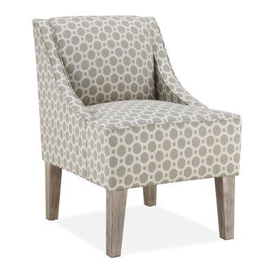 Tidiane Slipper Chair in Taupe