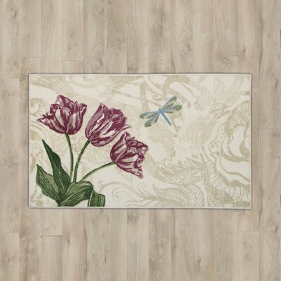 Orly Flowers Area Rug