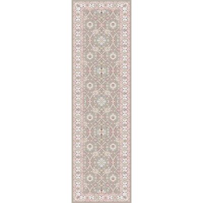 Dubuque Taupe Area Rug Rug Size: Runner 2'6