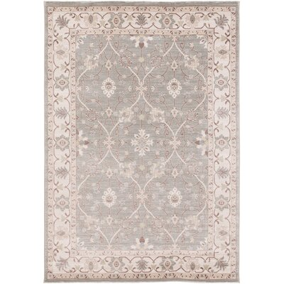 Dubuque Taupe Area Rug Rug Size: 52 x 76