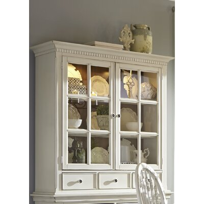 Monette China Cabinet Finish: White