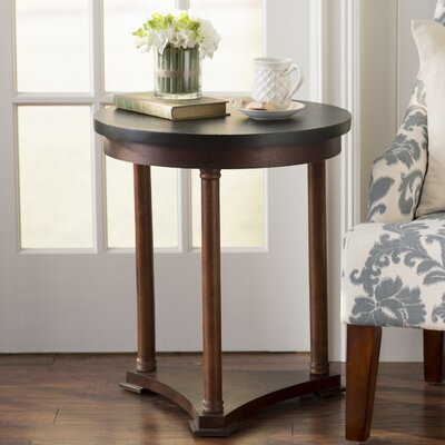 Groleau Side Table Color: Brown