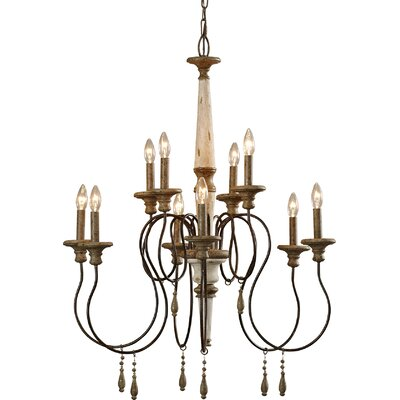 Armande Candle-Style Chandelier Size: Large