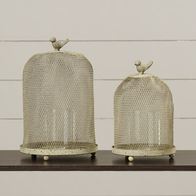 2-Piece Faye Candle Lantern Set
