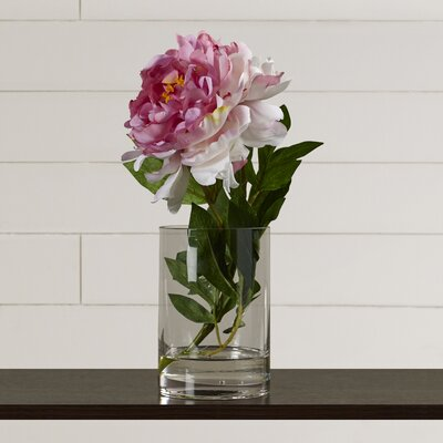 Faux Pink Peony