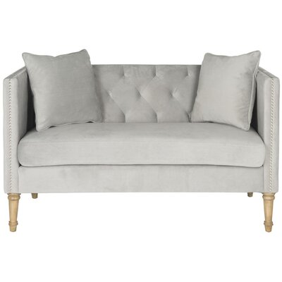 Lark Manor FOX6208E Vanves Tufted Loveseat