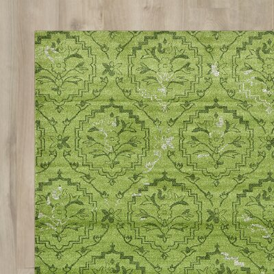 Avignon Light Green Area Rug Rug Size: 9 x 12